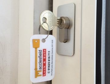 Moving home in Macclesfield, change locks