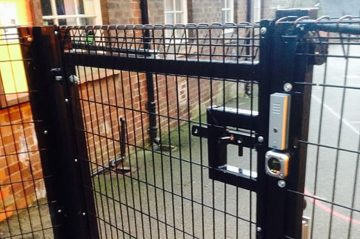Access control school gate Macclesfield Lock and Safe Locksmiths