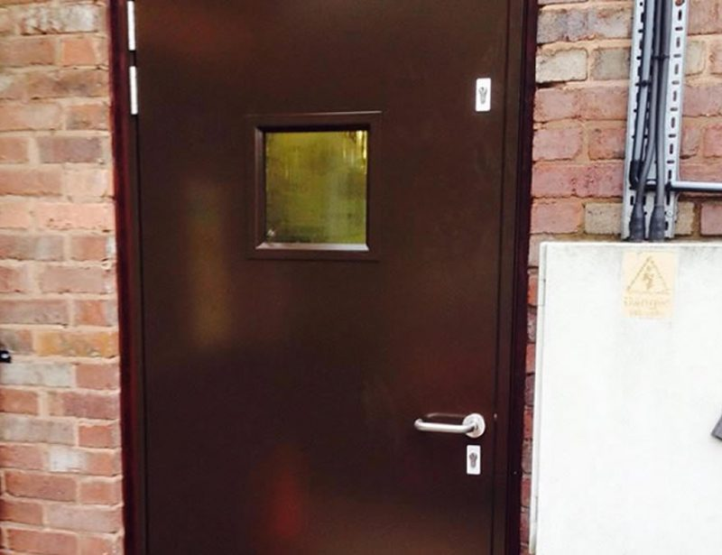 Security door fitted Macclesfield Lock and Safe