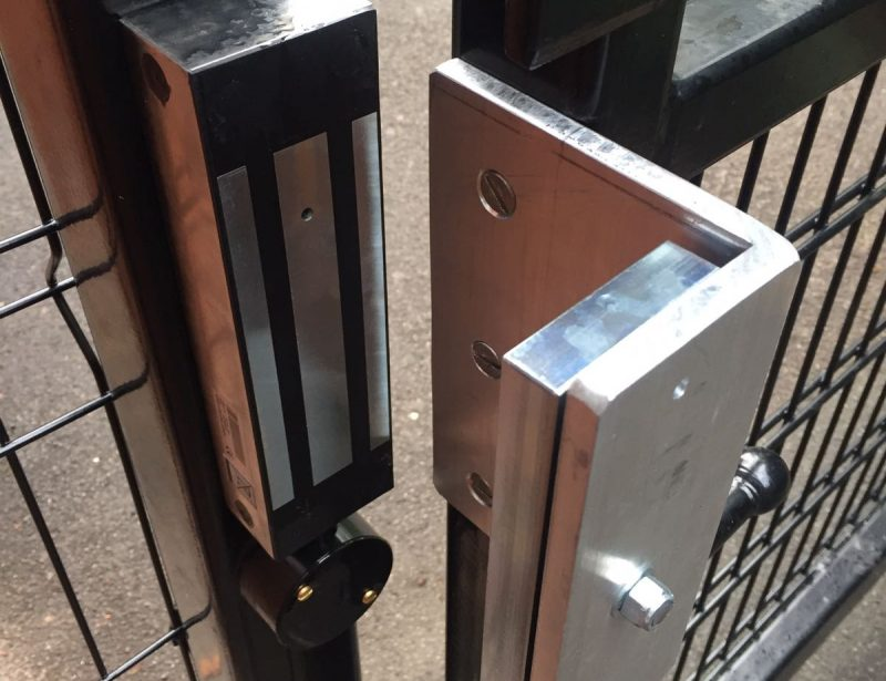 Macclesfield Locksmiths External Electro Magnet Lock Supplied and Fitted