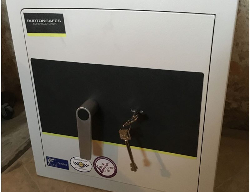 High Security Safe Supplied and Fitted by Macclesfield Lock and Safe