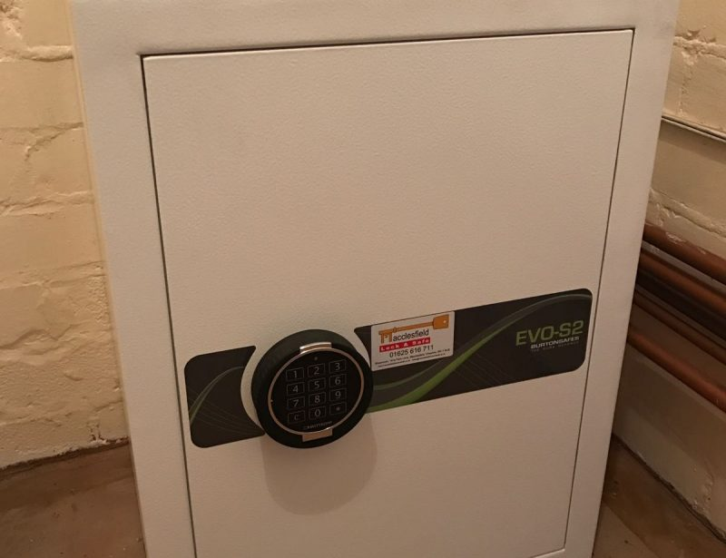 High Security Safe Supplied and Fitted Macclesfield