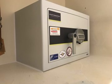 High Security Safe Supplied and Fitted